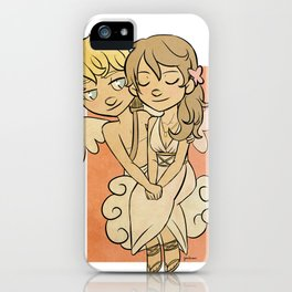 Cupid and Psyche iPhone Case