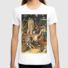 The Garden of Earthly Delights - Bosch - Hell Bird Man Detail T-shirt