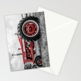 Vintage IH Farmall 450 Side View Selective Red Tractor Stationery Cards