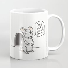 Freeloading Mouse  Mug