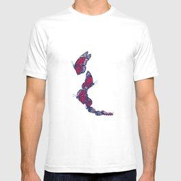 Red & Blue Monarch T-shirt