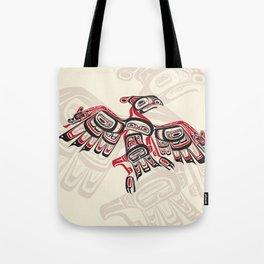 Salish Thunderbird Tote Bag