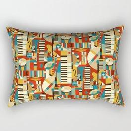 Jazz Fusion Rectangular Pillow