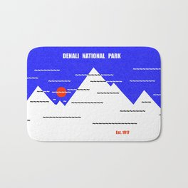 Denali National Park Bath Mat
