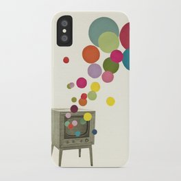 Colour Television iPhone Case