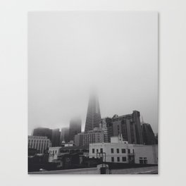 Foggy San Francisco Canvas Print