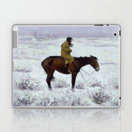 "Frederic Remington Western Art ""The Herd Boy"" Laptop & iPad Skin"