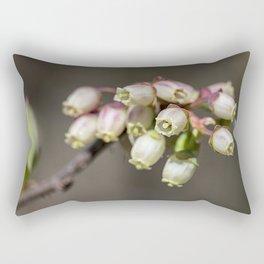 Wild blueberry bells. Rectangular Pillow