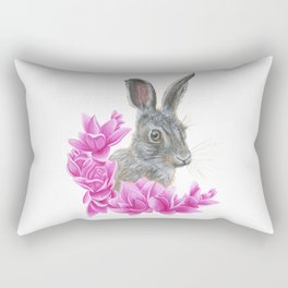 Rabbit Rectangular Pillow
