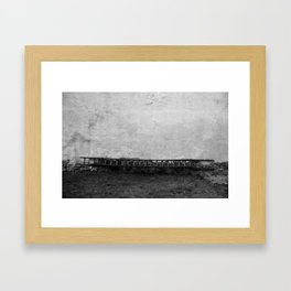 horizontal climb Framed Art Print