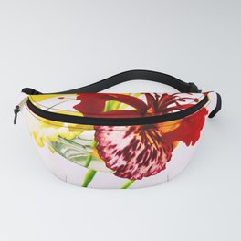 Summer Flower Fanny Pack