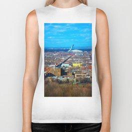Montreal Skyline Biker Tank