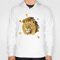 lion Hoodies featuring lion by gazonula