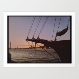 Sailors Delight Art Print