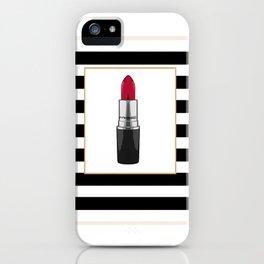 MAKEUP PRINT LIpstick print GIrls bedroom art Makeup art Gift For Her Gift Women iPhone Case