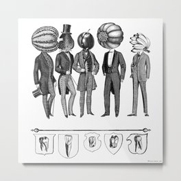 Honor to the ancient roots of our aristocracy. Metal Print