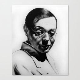 P. Lorre Canvas Print