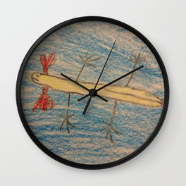 Axie by Lexi 2 Wall Clock