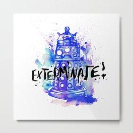 Doctor Who Dalek Metal Print