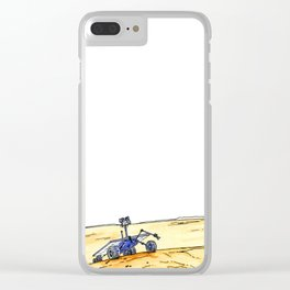Rover March Clear iPhone Case