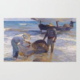 Valencian Fisherman - Joaquín Sorolla  Rug