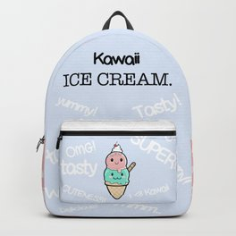 Cute Ice Cream Kawaii Backpack