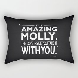 Its Amazing Molly Rectangular Pillow