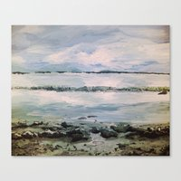 maine Canvas Prints featuring Maine by Samantha Crepeau