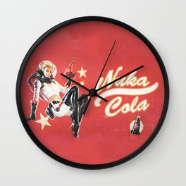 Nuka Cola Wall Clock