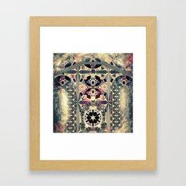 Leopard Slug Sex Fractal Framed Art Print