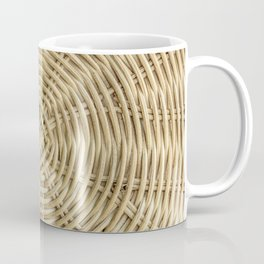 Rattan wickerwork texture Coffee Mug