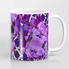Amethyst Purple Gems February Birthday Babies Coffee Mug