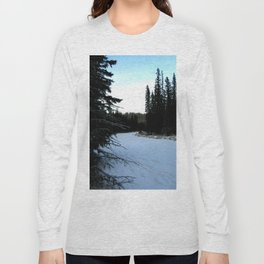 Wintertime in WaterValley Long Sleeve T-shirt