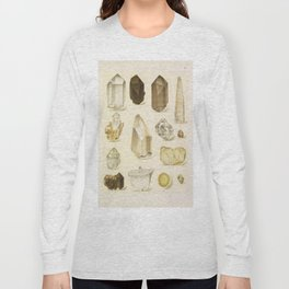Quartz Crystals Long Sleeve T-shirt
