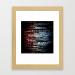 Religious Liberty Framed Art Print