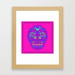 Chango calavera Framed Art Print