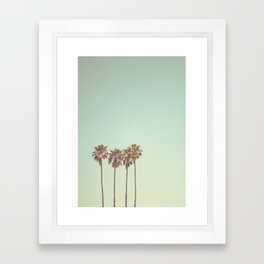 California Dreams Framed Art Print