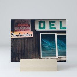Deli Sandwiches Mini Art Print