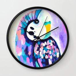 Budgie Wall Clock
