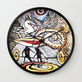 Artic Spirit Helpers Wall Clock