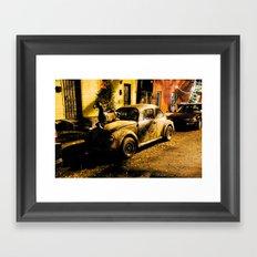cool car #002 Framed Art Print
