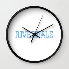 Riverdale - Logo Wall Clock