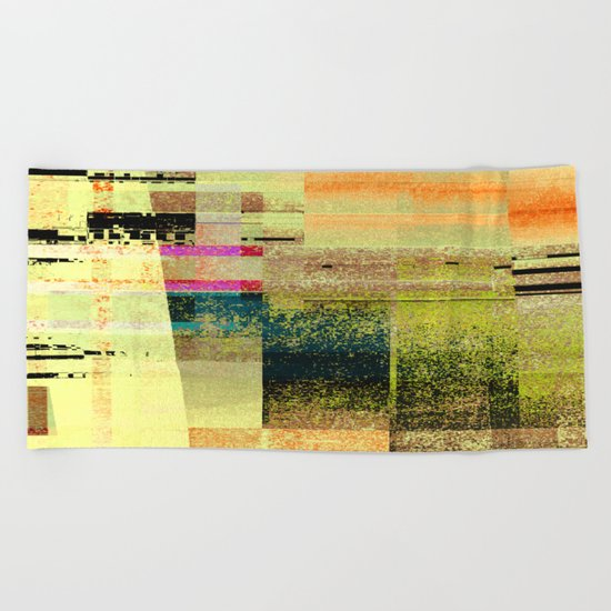 counterpart 3 Beach Towel