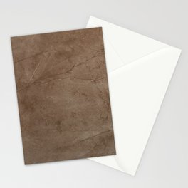 Natural Stone Porcelain - Brown Stationery Cards