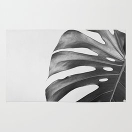Monstera palm leave Rug