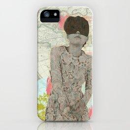Feminine Collage I iPhone Case