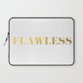 Flawless (Gold) Laptop Sleeve