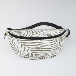 Bright Tropical Island Olive Fanny Pack