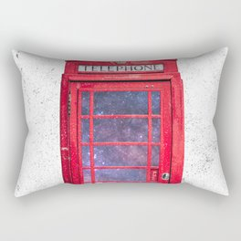 Telephone Box Portal London England Rectangular Pillow