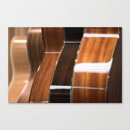 Recurring Guitar Dream Canvas Print